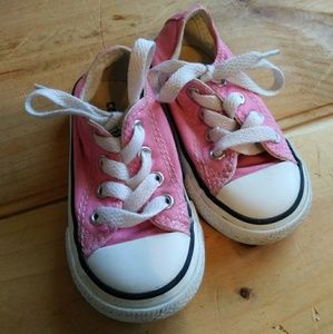 Pink Converse Toddler Girls Shoes